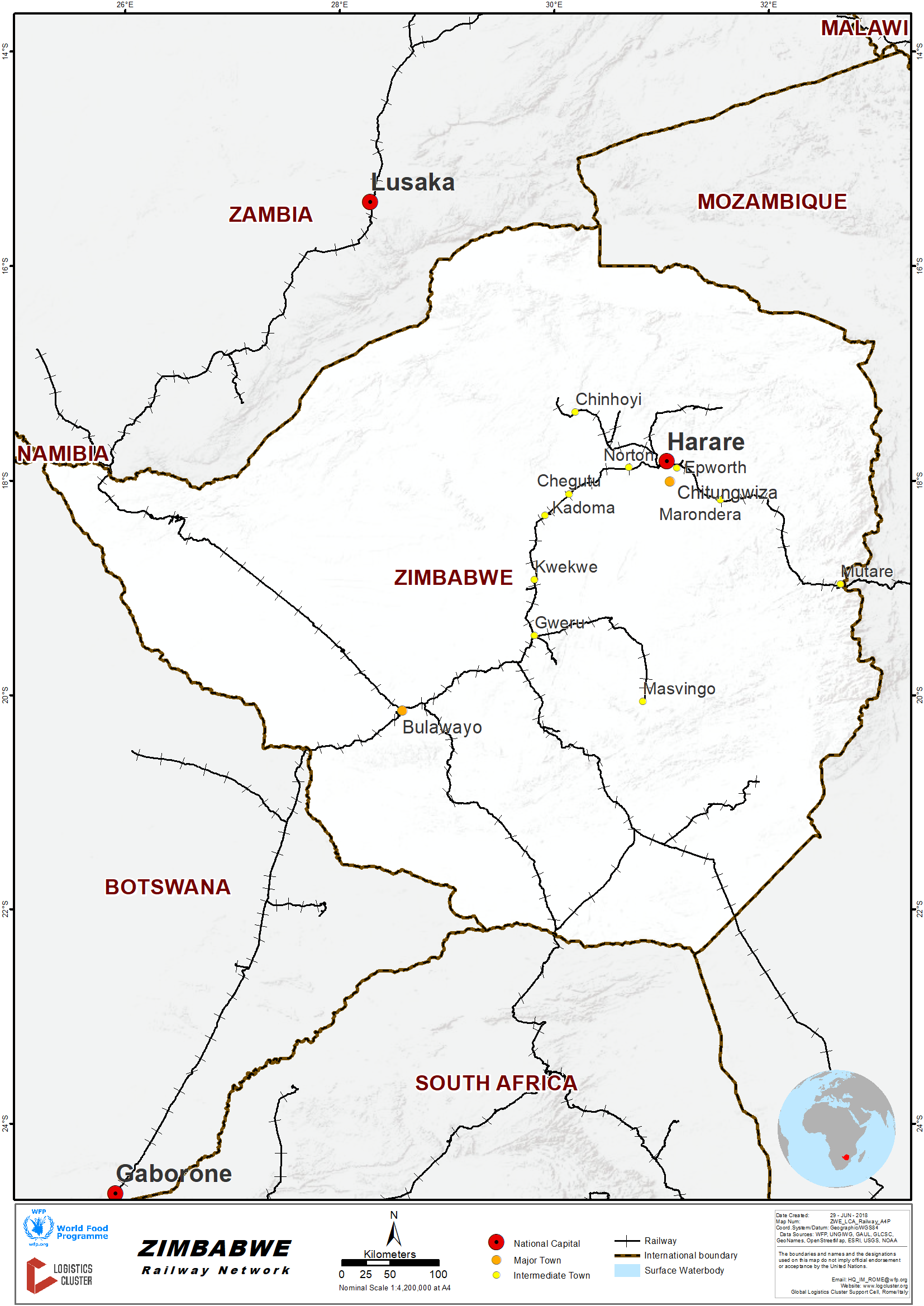 2 4 Zimbabwe Railway Assessment - Logistics Capacity