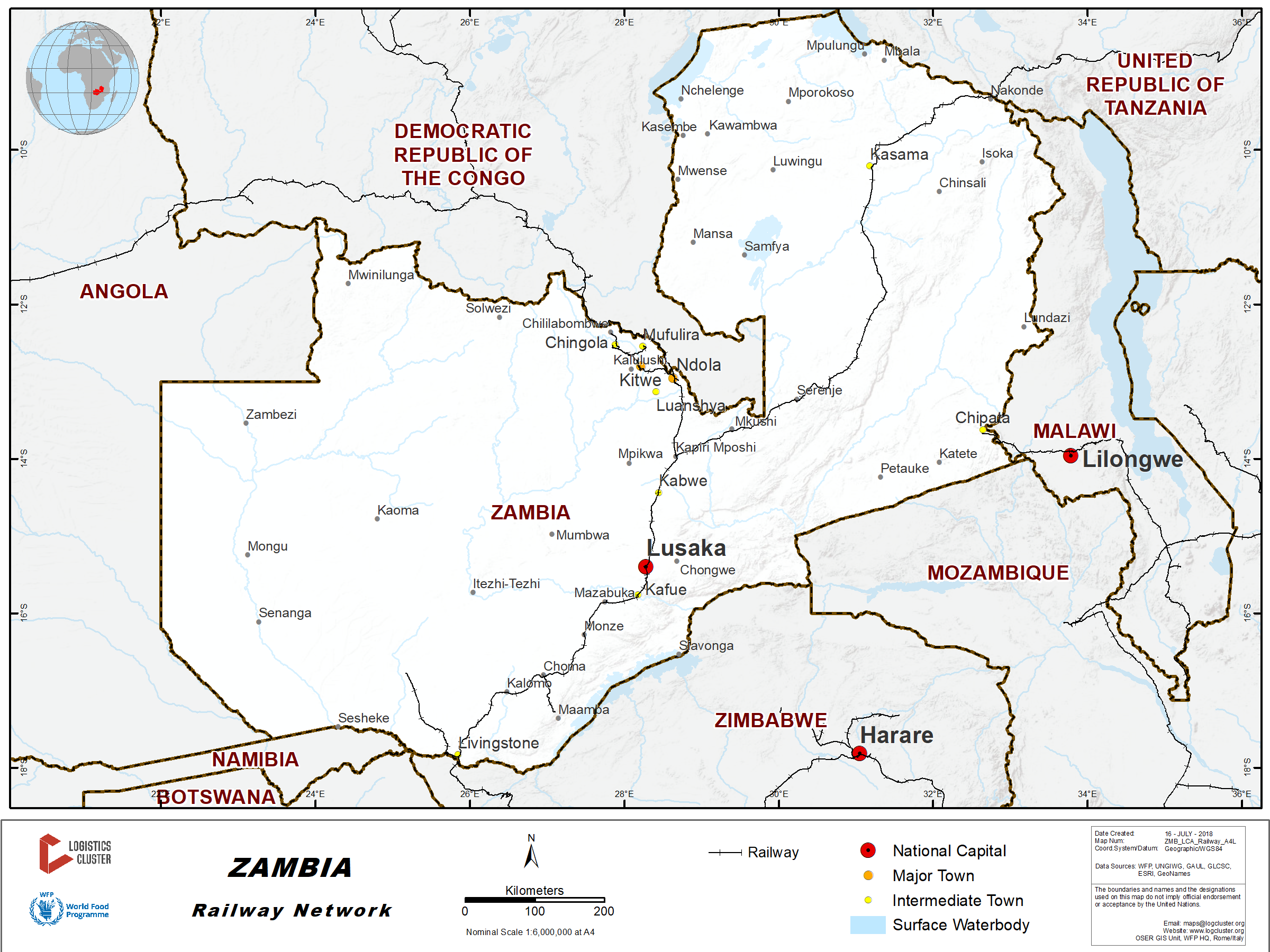 2 4 Zambia Railway Assessment - Logistics Capacity Assessment
