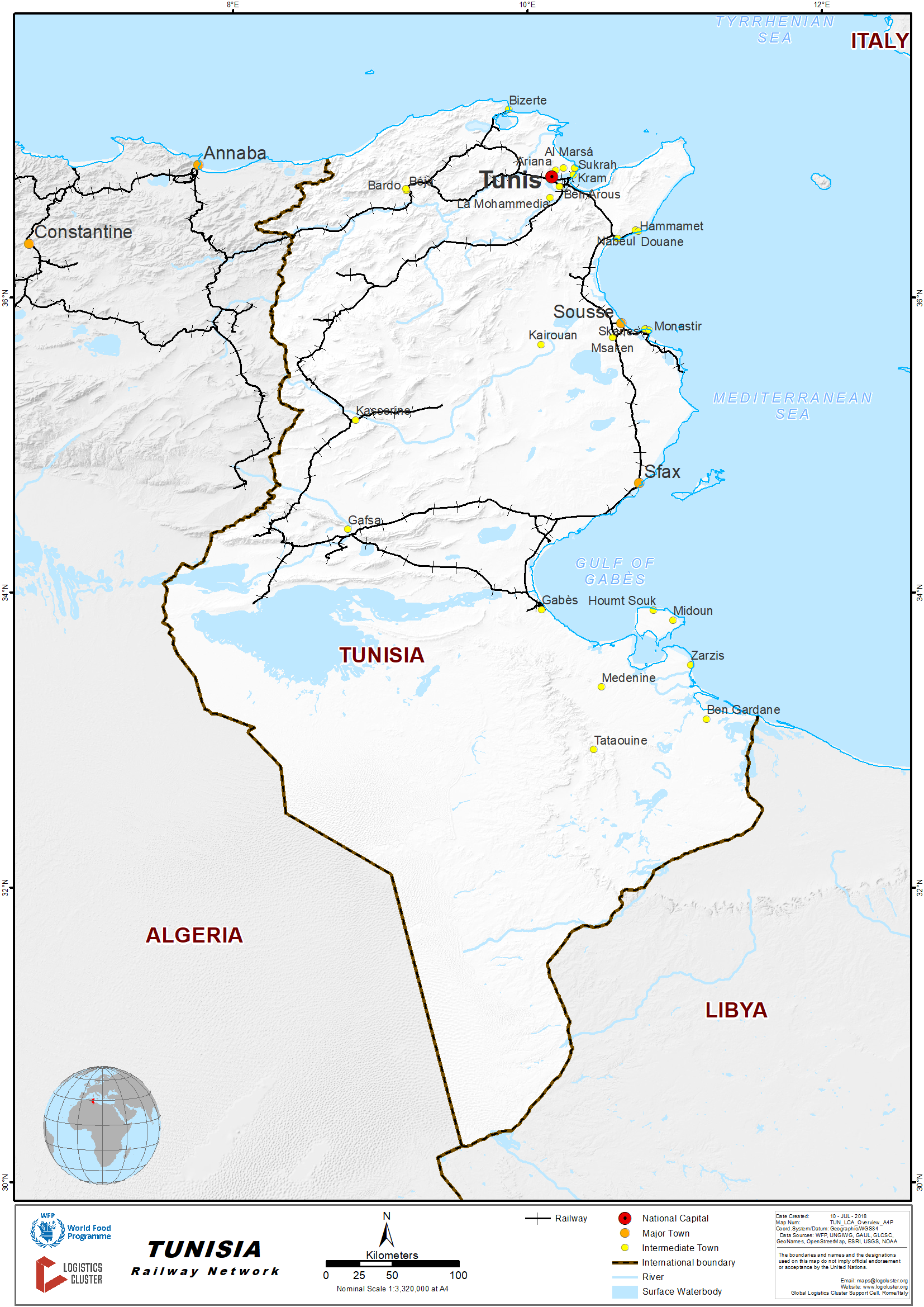 2 4 Tunisia Railway Assessment - Logistics Capacity
