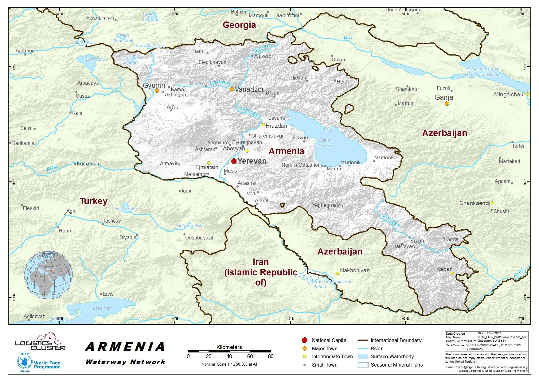 Armenia Waterways