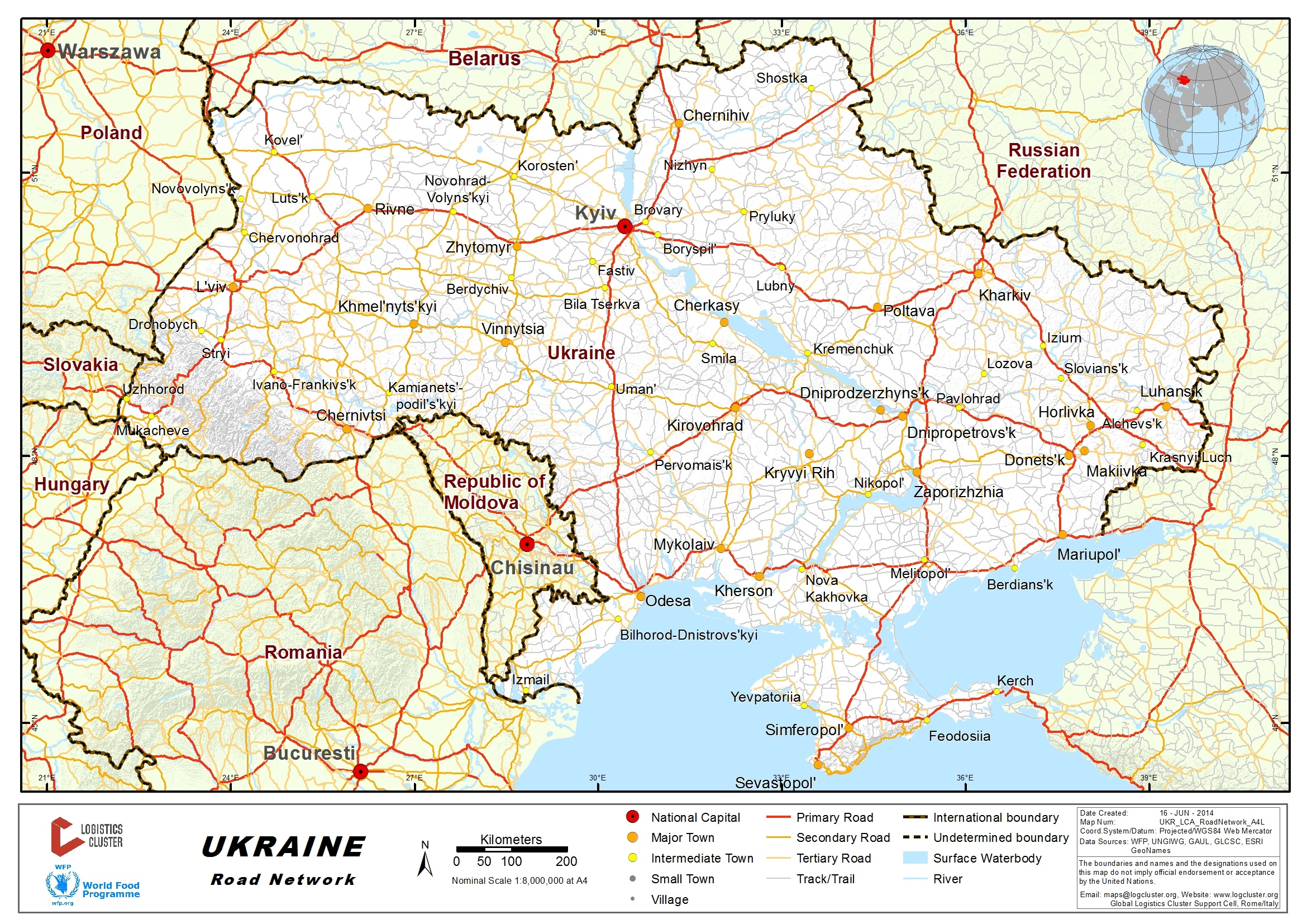 23 Ukraine Road Network Logistics Capacity Assessment Digital