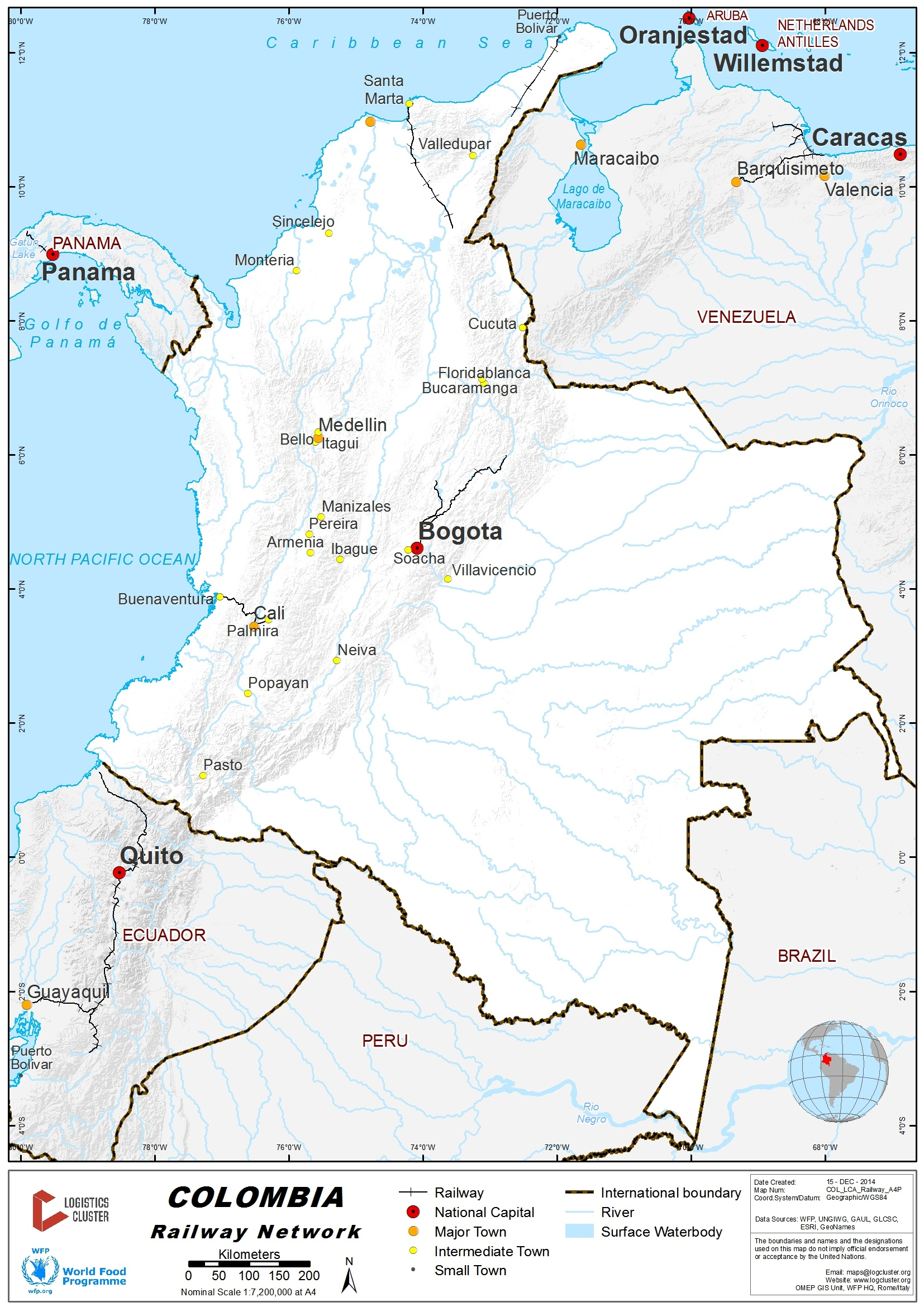 24 Colombia Railway Assessment Logistics Capacity Assessment