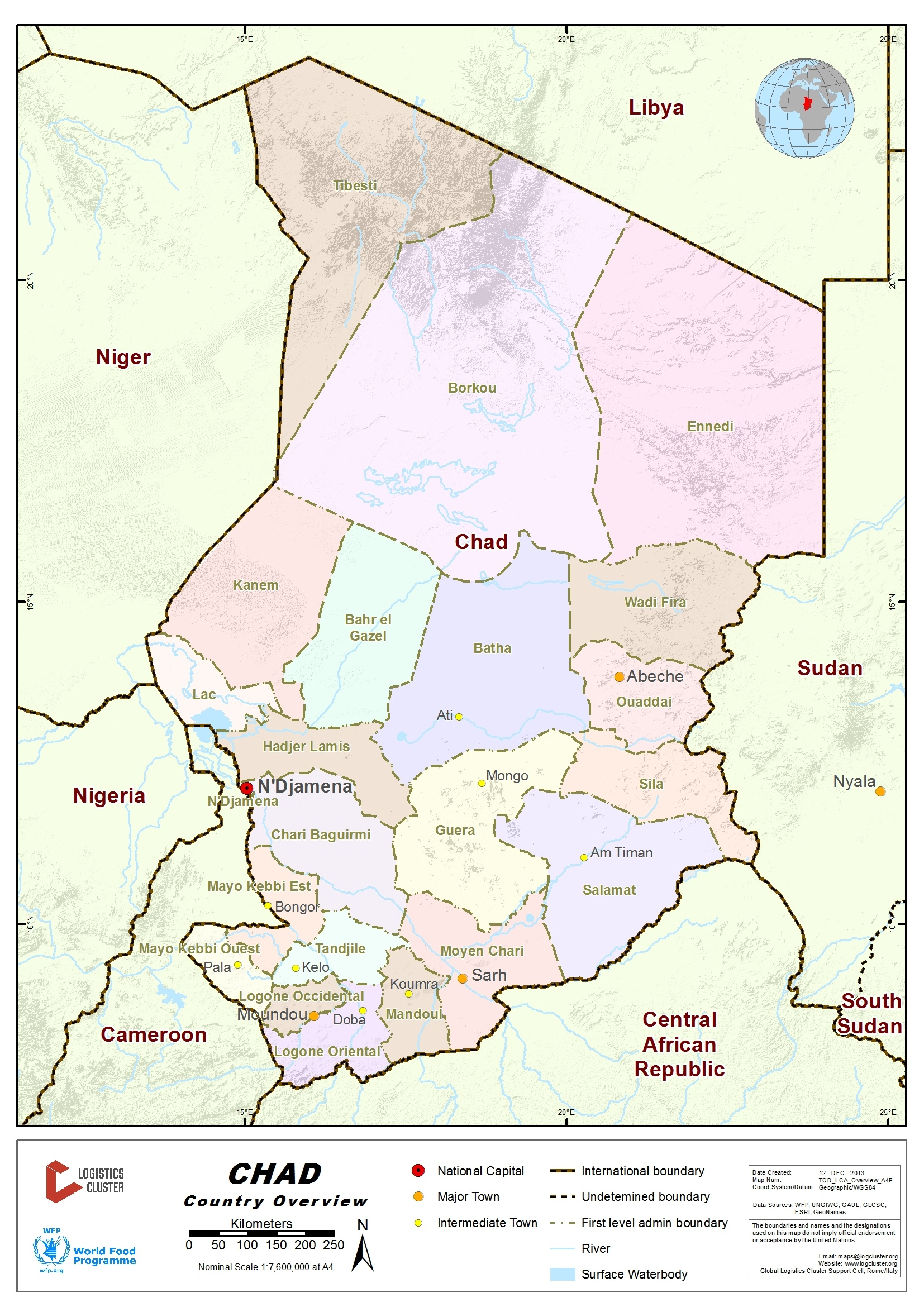 an overview of the country of chad Historystategov 30 shell learn about the and consular relations, by country, since 1776: chad summary.