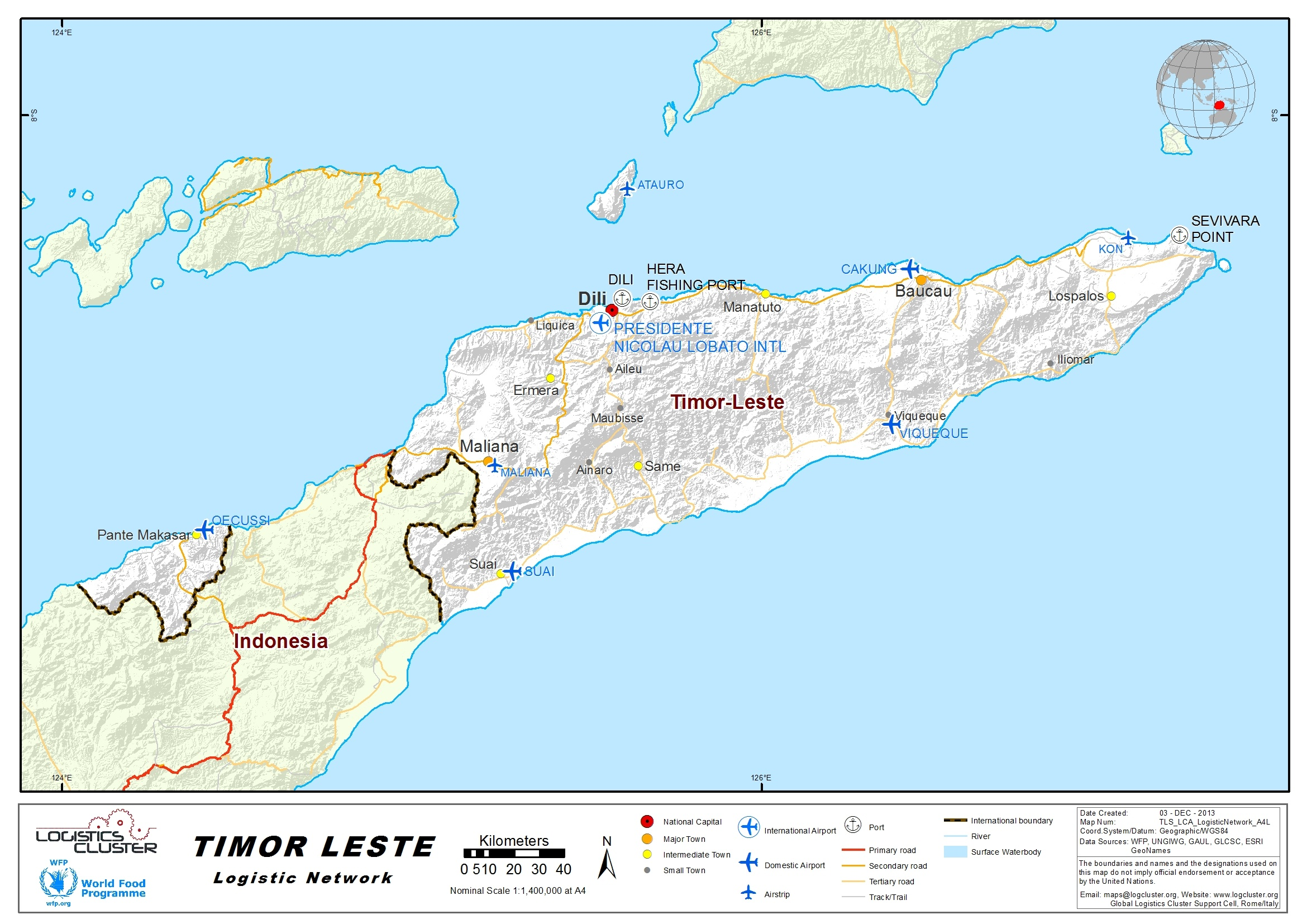2 5 Timor-Leste Waterways Assessment - Logistics Capacity Assessment