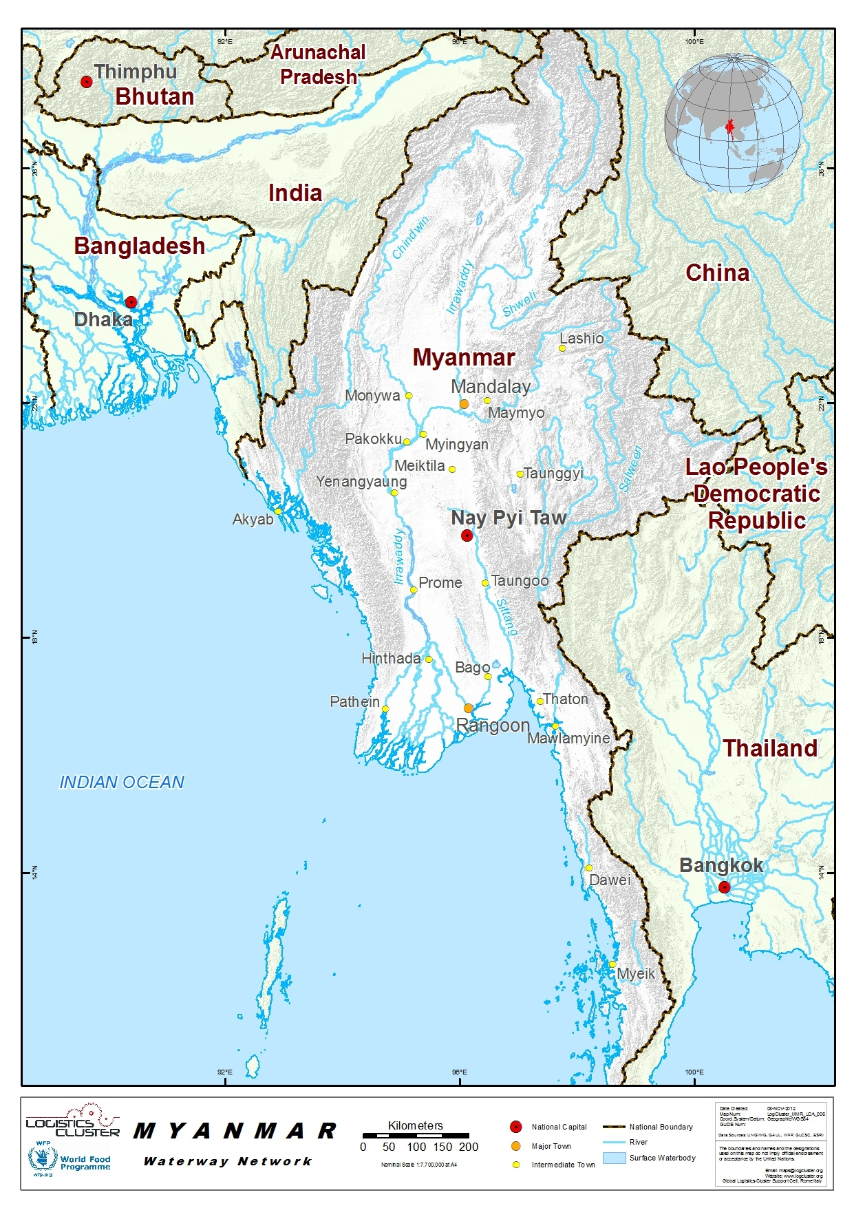 Myanmar Waterways