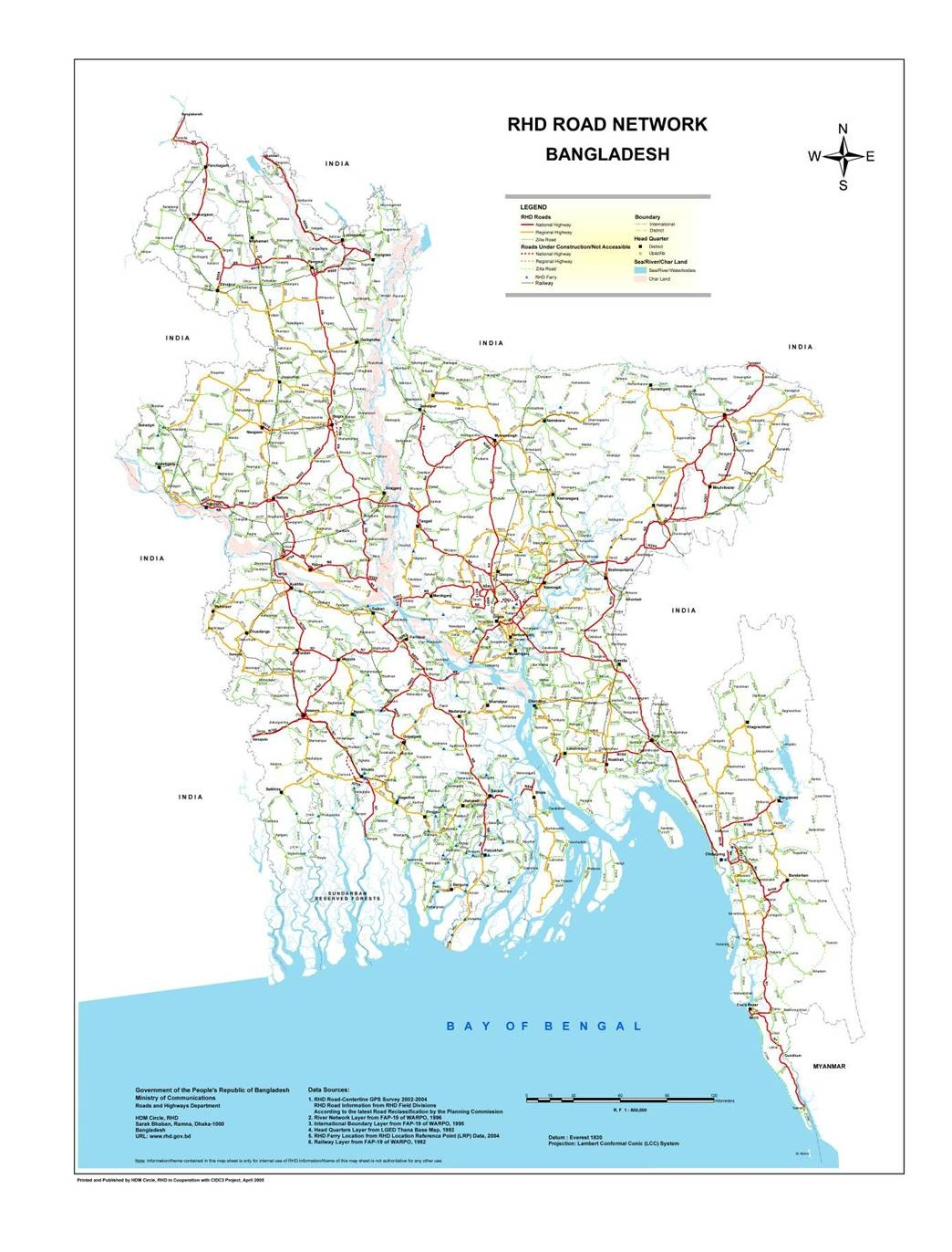bangladesh roads and transport statistics Transport sector in bangladesh and the challenges going forward bangladesh transport policy note according to police statistics, road traffic crashes cause.