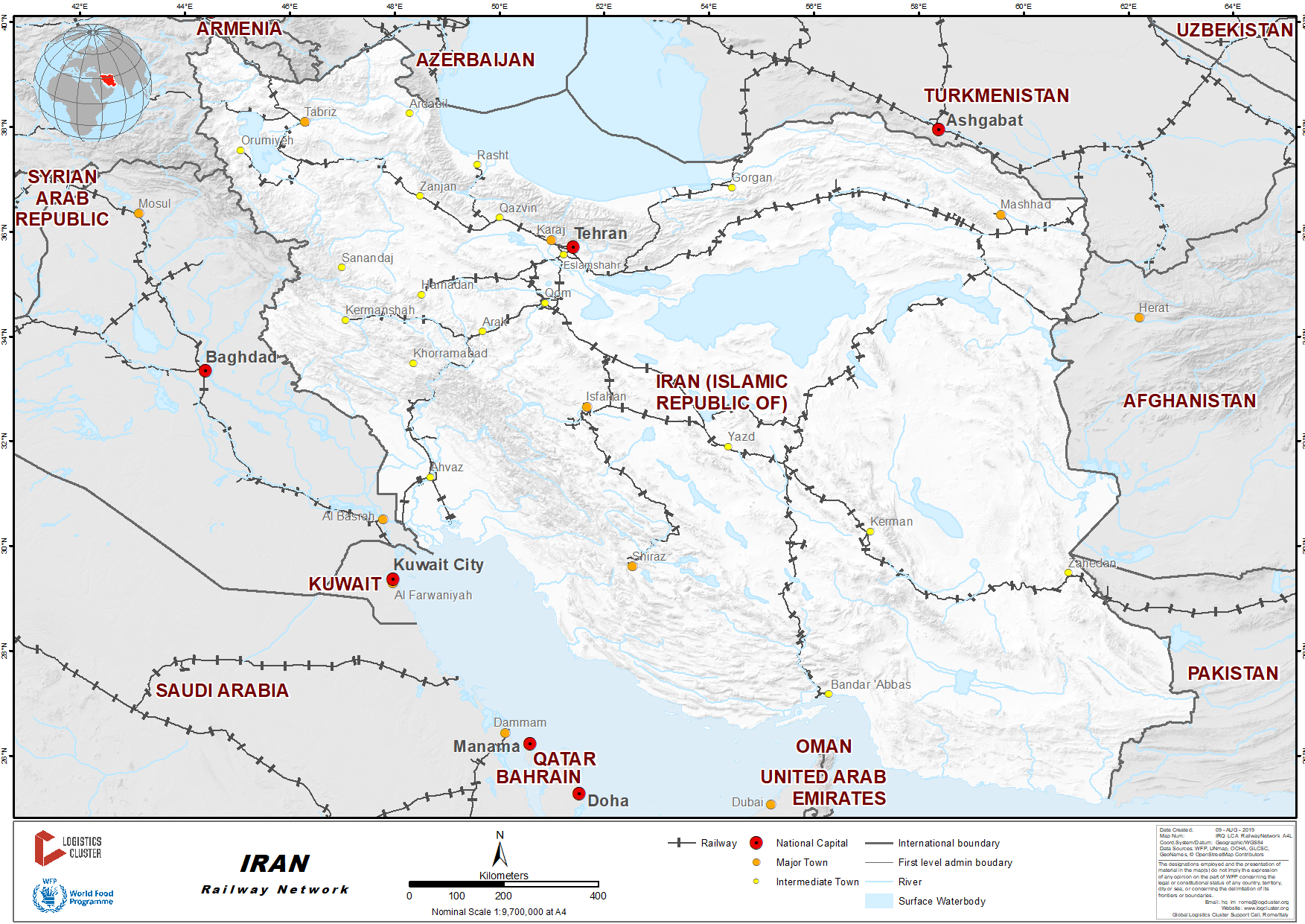 2 4 Iran Railway Assessment - Logistics Capacity Assessment