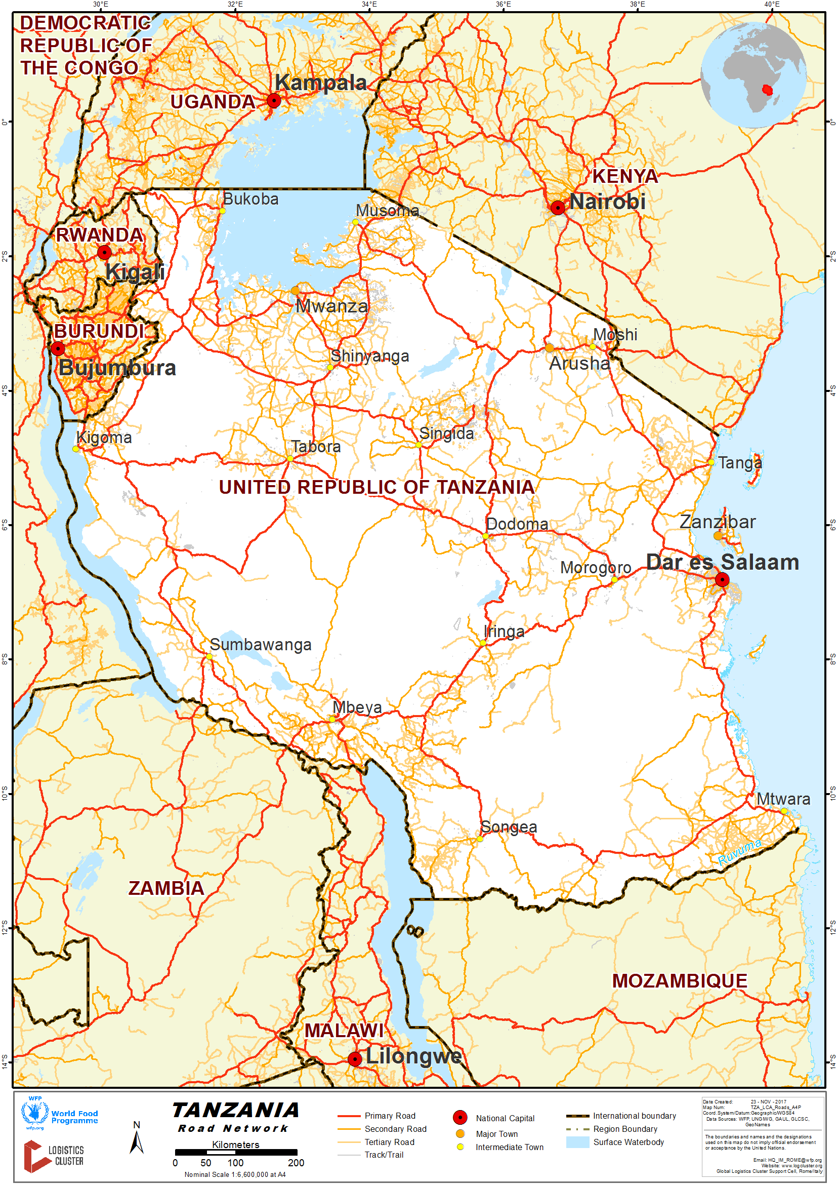 23 Tanzania Road Network Logistics Capacity Assessment Digital